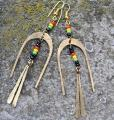 24937R Earrings rasta