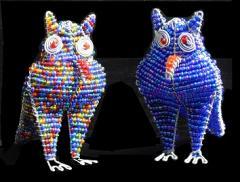 60104 beaded owl